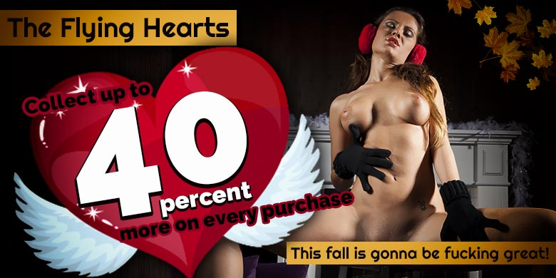 The flying hearts: 40% more Coins with Nicky Nasty